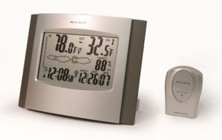 Acu Rite Atomic Clock & Wireless Weather Station, 75321A1