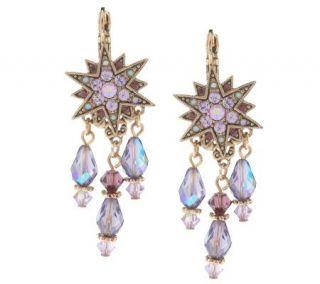 Kirks Folly Dream Star Lever Back Earrings —