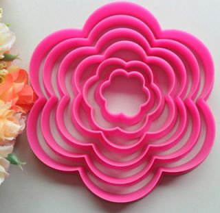 Flower Cookie Mold Cutting Mold Baking Tools Fondant Cake Mold