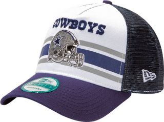 Dallas Cowboys New Era 9Forty Spiral Stripe Adjustable Hat