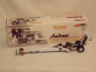 NHRA 2002 Andrew Cowin 1 24 Top Fuel Dragster NY Yankees