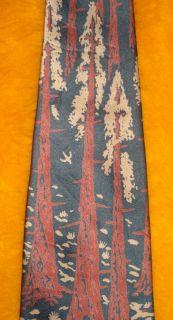 COUNTESS MARA ~ VINTAGE 1940s ~ DRESS SHIRT SUIT TIE ~  LUMBERJACKS