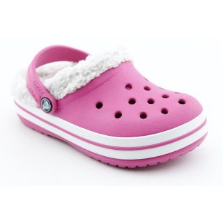 Crocs Crocband Mammoth Youth Kids Girls Size 6 Pink Synthetic Clogs
