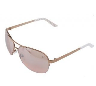 Liz Claiborne New York Signature Aviator Sunglasses   A215087