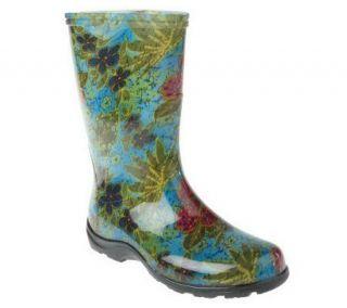As Is Sloggers Waterproof Fashion Rain & Garden Boots —