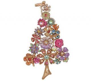 Kirks Folly Fantasia Fairy Flower Christmas Tree Pin/Enhancer