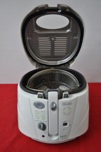 delonghi cool touch roto fryer easy clean system deep fryer item 1183
