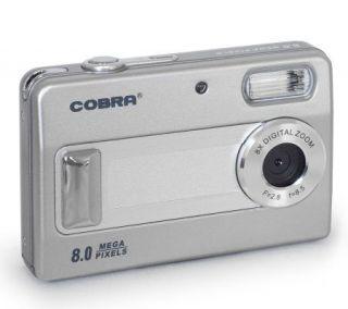 Cobra Digital DC8000 8MP Digital Camera with 2Diag. Display   E206788