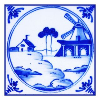 Blue White Folk Art Counted Cross Stitch Chart Free SHIP USA