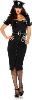 Brand New Sexy Womens Police Officer Cop Outfit Adult Womens