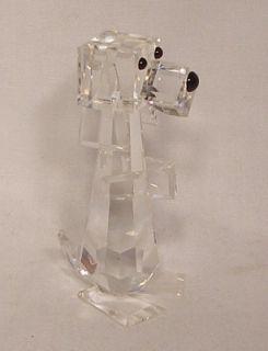 Swarovski Crystal Figurine Dog Standing Pluto