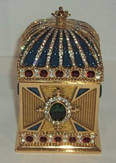 Wendy Reed Swarovski Crystal Large Trinket Box Beatrice NEW