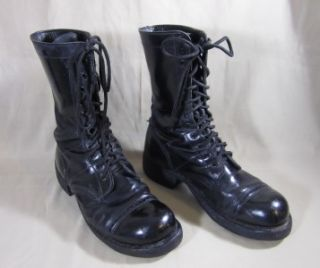 Corcoran Boots Black Leather Jump Combat Military Paratrooper Boots