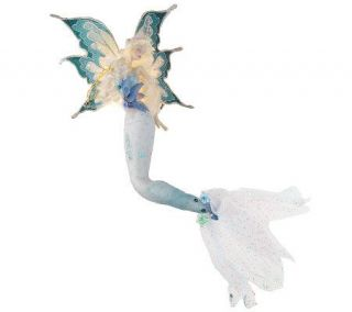Kirks Folly Blue Mermaid Night Light —