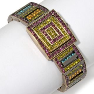 Changeable Art Crystal Reversible Watch Swarovski Crystals