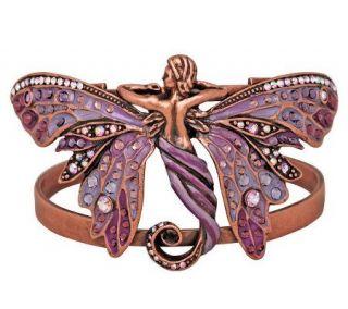Kirks Folly Butterfly Goddess Cuff Bracelet —