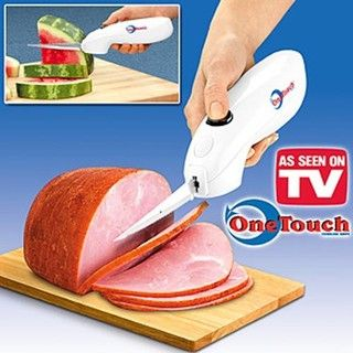 Electric Powered Cordless Electric Knife Slicer Stainless Steel Blade