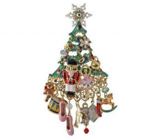Kirks Folly Dreams of Nutcracker Christmas TreePin/Enhancer   J303989