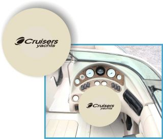 Cruisers Yachts Boat Marine Steering Wheel Cover 100 Polyester Micro
