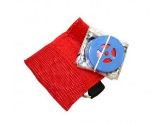 Key Mini CPR Keychain Mask Face Shield Barrier Kit