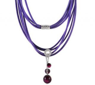 Ippocampo Sterling Gemstone Bead Multi strand Necklace   J268939