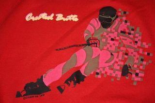 XXL Vtg 80s 1985 Crested Butte Ski Raglan sweat Shirt