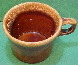 Hull Pottery Crestone Mug Vintage Brown Coffee Cup