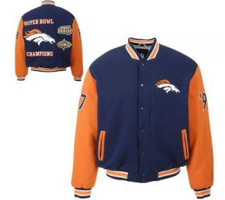 NFL Denver Broncos Super Bowl Champions VarsityJacket —