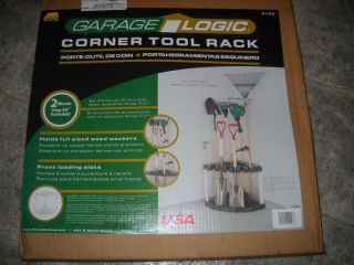 Corner Home Garden Yard Tool Rack Garage Shed Storage Holder NEW