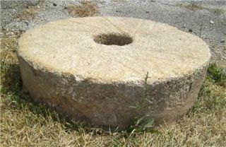 MILLSTONE GRIST MILL GRINDING WHEEL STONE KENTUCKY KY CORNMEAL FLOUR