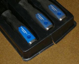 PC Cornwell Tools Scraper Set in Plastic Tray VM SS70 VM SS700B VM