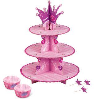 Wilton 3 Tier Princess Birthday Party Cupcake Stand Kit