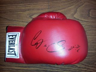 Diego Chico Corrales Autograph Boxing Glove RARE Everlast Auto