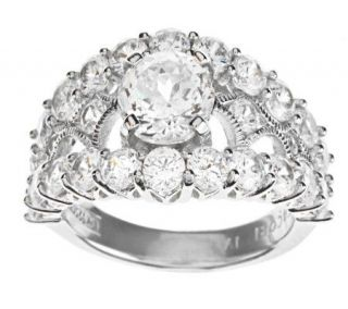 Tacori IV Diamonique Epiphany Bloom Cut Statement Ring   J273762