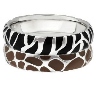 Simply Stacks Sterling Wild Stackable Ring Set   J310004