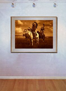 Sioux Chiefs Big Edward s Curtis Native American Art