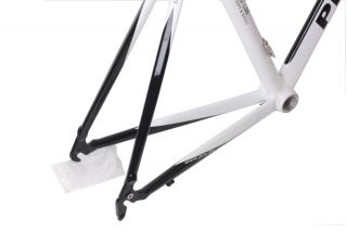 Pro Lite Road Bike Cuneo Frame 56 5M White Black New