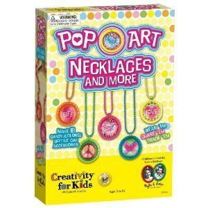 Creativity For Kids Pop Art Necklaces And More New Jewelry Kits Craft