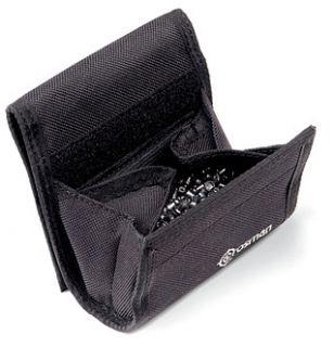 crosman black ammo belt pouch holder BBs pellets slingshot shell