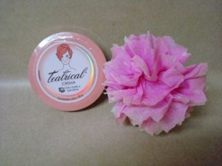 Cream Remover Moisturize Crema Teatrical Rosas Y Lanolina 130g