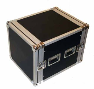10U Space Rack Case Road Ready Crossover Amp Amplifier