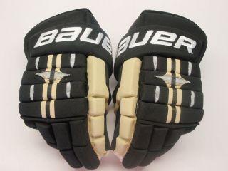 Return Bauer Vapor BH Pro Custom Hockey Gloves Mark Letestu 14
