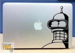 Bender Vinyl MacBook Laptop Decal Sticker