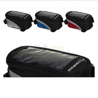 2012 Bicycle Bike Cycling Frame Pannier Front Tube Bag Cell Mobile