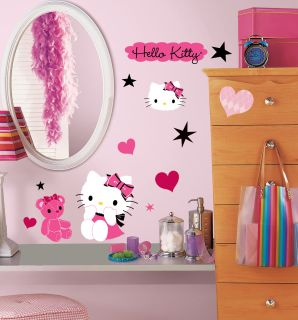 Hello Kitty Couture Peel Stick Wall Decals RMK2015SCS