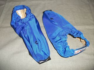 LOWE Cross Country Ski Boot Covers XL Insulated Booties Blue