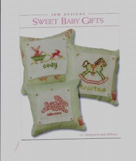 Sweet Baby Gifts Cross Stitch JBW Designs