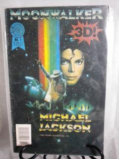 Moonwalker 3 D 1 Michael Jackson 1989 VF