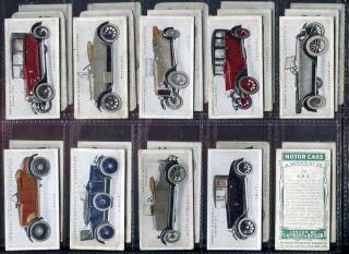 Tobacco Card Set, Lambert & Butler, MOTOR CARS, 1st Series, 1922