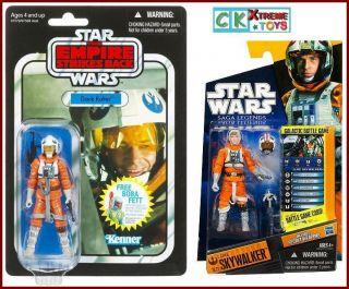 Star Wars Luke Skywalker SL21 Dack Ralter VC07 Snowspeeder Pilot 2